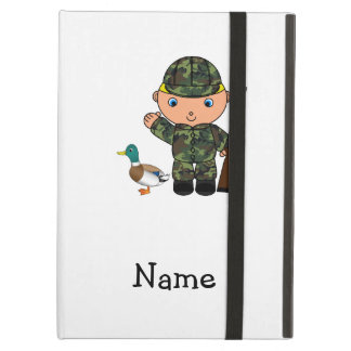 Personalized name duck hunter case for iPad air