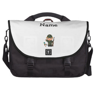 Personalized name duck hunter commuter bags