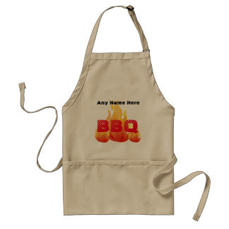 Personalized Name or Event BBQ - Standard Apron