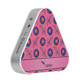Personalized name pink archery