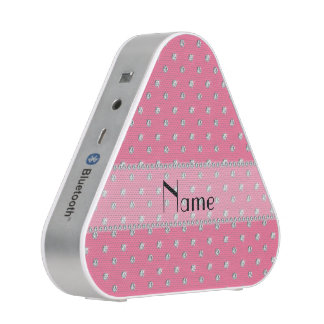 Personalized name pink diamonds