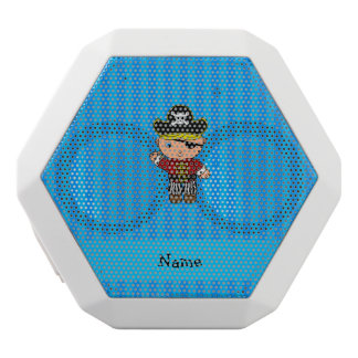 Personalized name pirate blue stripes