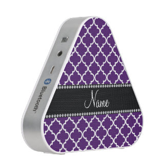 Personalized name Purple moroccan