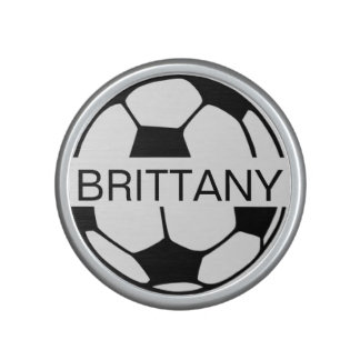 Personalized Name Soccerball Speaker
