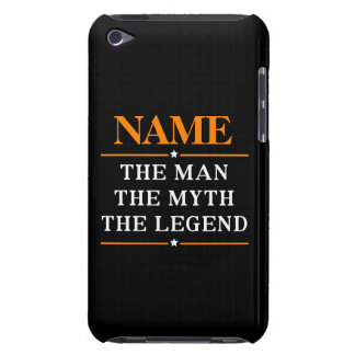 Personalized Name The Man The Myth The Legend Barely There iPod Case