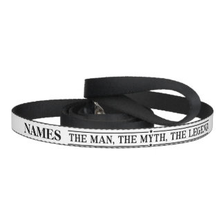 Personalized Name The Man The Myth The Legend Dog Leash