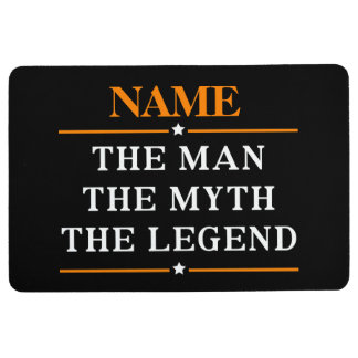Personalized Name The Man The Myth The Legend Floor Mat