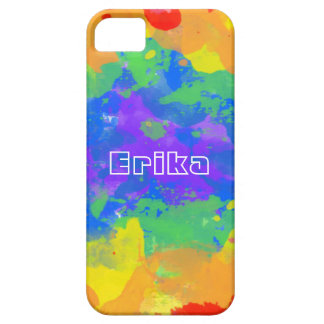 Personalized Name Tie Dye Hippie Texture Case For The iPhone 5