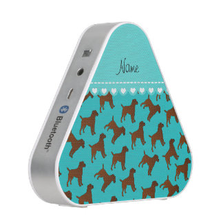 Personalized name turquoise border terrier dogs