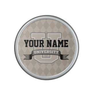 Personalized Name University Cool Funny College Bluetooth Speaker