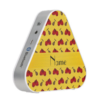 Personalized name yellow boxing pattern
