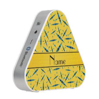 Personalized name yellow kayaks