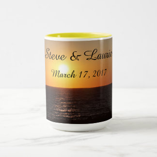 Personalized Names with Wedding Date - Mug