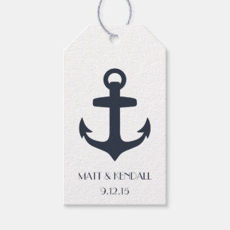 Personalized Nautical Anchor Gift Tags
