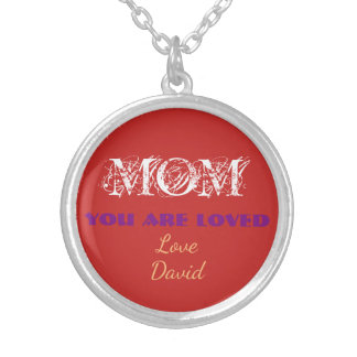 Personalized Necklaces Gifts For Mom You Are Loved