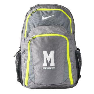 Personalized Nike backpack with custom monogram