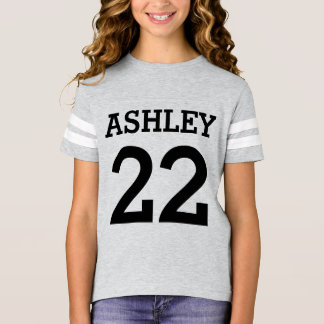 Personalized Numbered T-Shirt