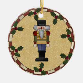Personalized Nutcracker Christmas Ornament