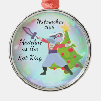 Personalized Nutcracker Ornament - Rat King