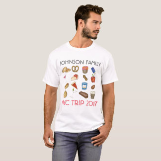 Personalized NYC New York Family Vacation Trip T-Shirt