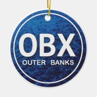 Personalized OBX Outer Banks Ornament