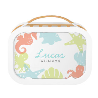 Personalized | Ocean Critters Lunch Box