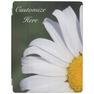 Personalized Offset Daisy iPad Smart Cover iPad Cover