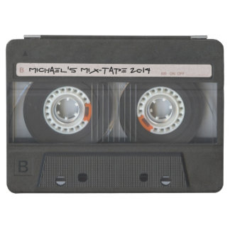 Personalized Old-School Cassette Tape iPad Air Cover