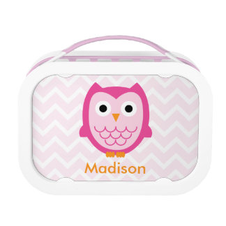 Personalized Owl Lunchbox