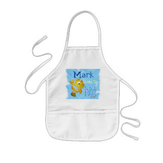 Personalized Painting Apron