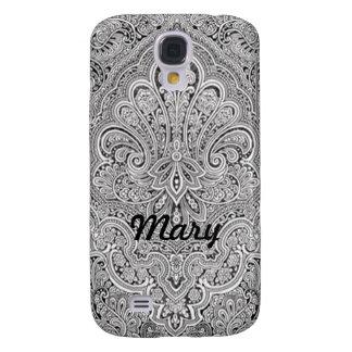 Personalized Paisley Art HTC Vivid Phone Case