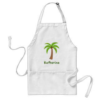 Personalized Palm Tree Standard Apron