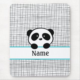 Personalized Panda Mousepad