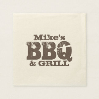 Personalized paper napkins for BBQ party Disposable Napkin