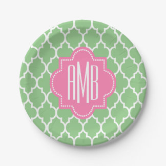 Personalized party paper plate