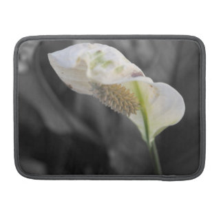Personalized Peace Lily - Selective Color Sleeve For MacBook Pro