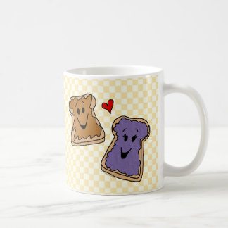 Personalized Peanut Butter and Jelly Coffee Mug