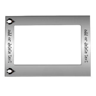 Personalized Penguin Design Portrait Magnetic Frame