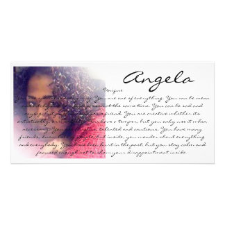 PERSONALIZED PERSONALITY PHOTOCARDS PHOTO GREETING CARD