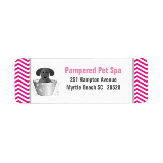 Personalized Pet Business Return Address Label