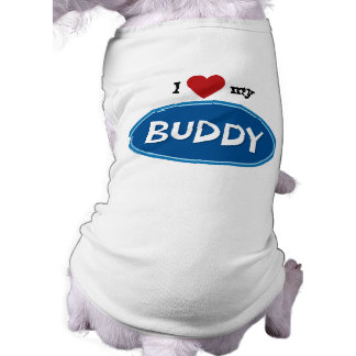 Personalized pet name Buddy Pet Clothes