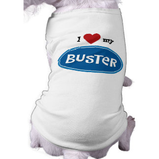Personalized pet name Buster Dog Clothes