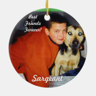 Personalized Pet Ornaments-Remembrance Ceramic Ornament