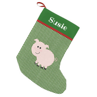 Personalized Pet Pig Stocking