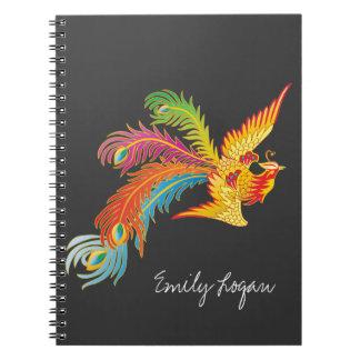 Personalized Phoenix Design Notebook