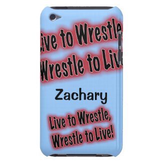 Personalized Phone Case for Wrestler Barely There iPod Cover