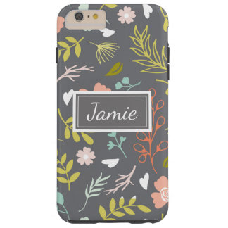 Personalized Phone Case Pretty Patterned Floral