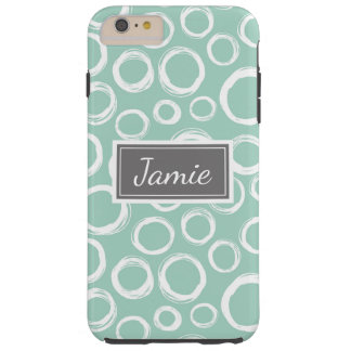 Personalized Phone Case Pretty Patterned Seafoam