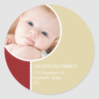 PERSONALIZED PHOTO ADDRESS LABELS :: goodcheer 7