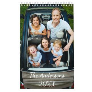Personalized Photo Calendar